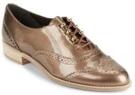 Stuart Weitzman Darling Nutani Leather Oxfords