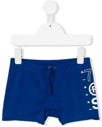 Diesel drawstring swimming shorts