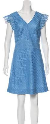 Draper James Short Sleeve Lace Dress