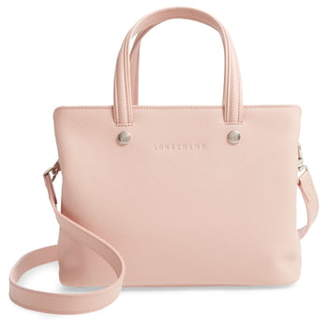 Longchamp Le Foulonne Zip Around Leather Tote