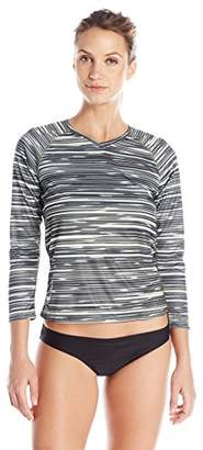 Kanu Surf Women's UPF 50+ Long Sleeve Active Swim Tee and Workout Top