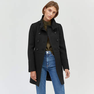 Warehouse Funnel Pea Coat