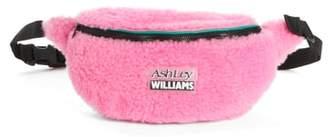 Ashley Williams Genuine Shearling Belt Bag