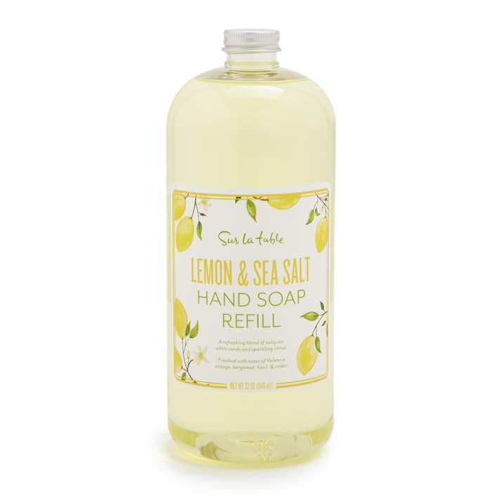 Lemon & Sea Salt Hand Soap Refill