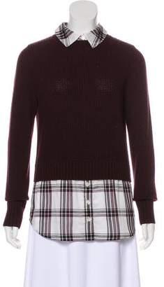 Veronica Beard Long Sleeve Knit Sweater
