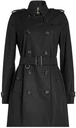 Burberry Mid Cotton Trench Coat