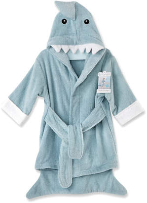 Kate Aspen Baby Aspen Let The Fin Begin Blue Shark Robe