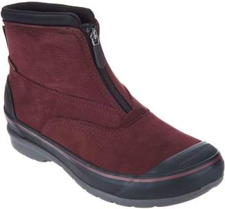 Clarks Waterproof Leather Zip Front Boots - Muckers Hike