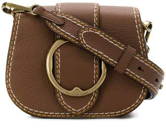 Polo Ralph Lauren (ポロ ラルフ ローレン) - Polo Ralph Lauren buckled saddle bag