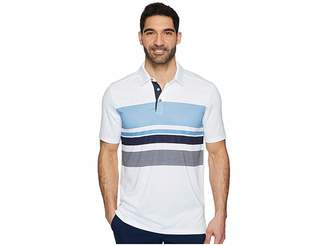 Skechers GO GOLF Slice Engineered Stripe Polo