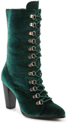 Penny Loves Kenny Argent Velvet Boot - Women's