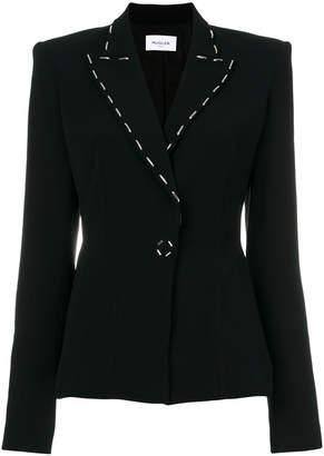 Thierry Mugler embellished lapel blazer
