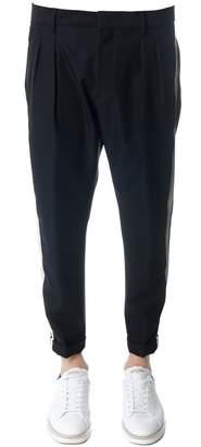 Low Brand Black Wool Trousers
