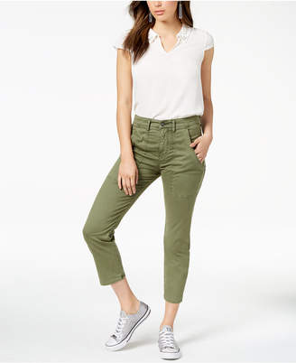 Hudson Jeans Leverage Cropped Pants