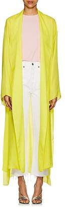 Juan Carlos Obando Women's Washed Satin Open-Front Robe