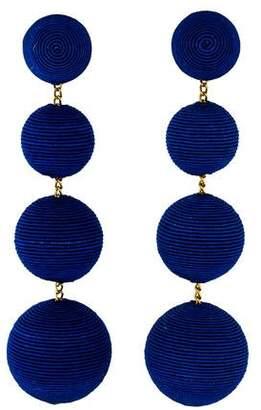 Rebecca de Ravenel Classic Four-Drop Earrings