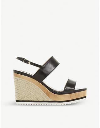 d2ef8244ee46 Dune Karii slingback espadrille wedge sandals