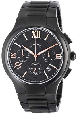 Philip Stein Teslar Men's 45B-CRBKRG-SSBP Stainless Steel Watch