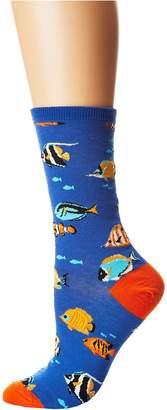 Socksmith Stay in Schools Women's Crew Cut Socks Shoes