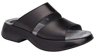 Dansko Open Toe Leather Slides - Lana