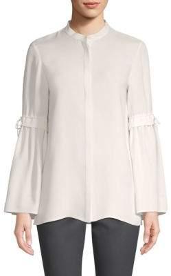 Lafayette 148 New York Roanna Silk Blouse