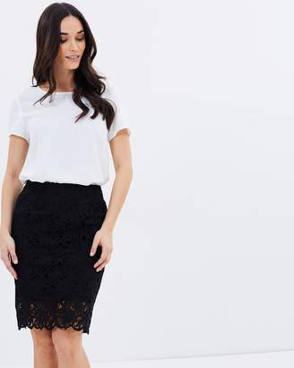 Sophia Lace Skirt