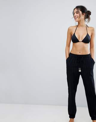 Seafolly Washed Dobby Beach Pant