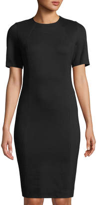 T Tahari Perpetual Short-Sleeve Sheath Dress