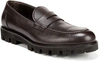 Vince Men's Comrade Leather Lug-Sole Penny Loafers