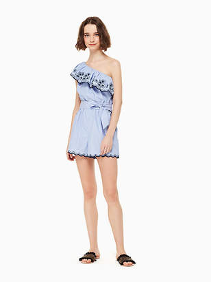 Kate Spade Daisy embroidered romper