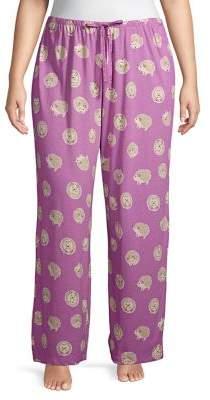 Hue Plus Hedgehog Heaven PJ Pants