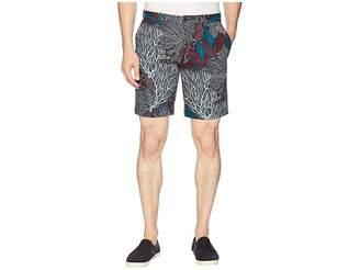 Perry Ellis Coral Print Stretch Shorts Men's Shorts