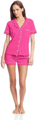 Bottoms Out Women's Knit Pajama Short Set