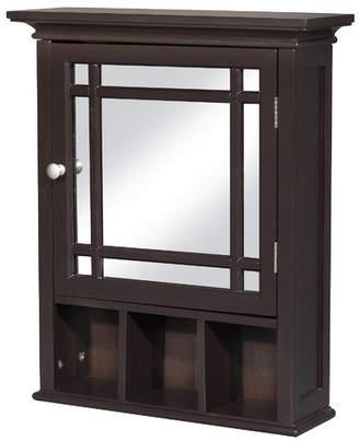 "Three Posts Bewley 20"" x 24"" Surface Mount Framed Medicine Cabinet with 1 Adjustable Shelf"