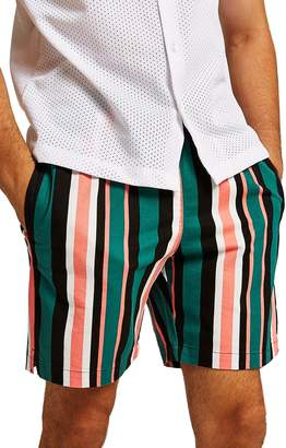 Topman Slim Stripe Shorts