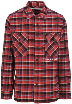 Off-White Off White Check Shirt