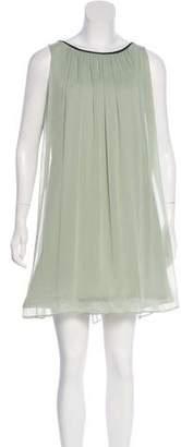 Alice + Olivia Sleeveless Trapeze Dress
