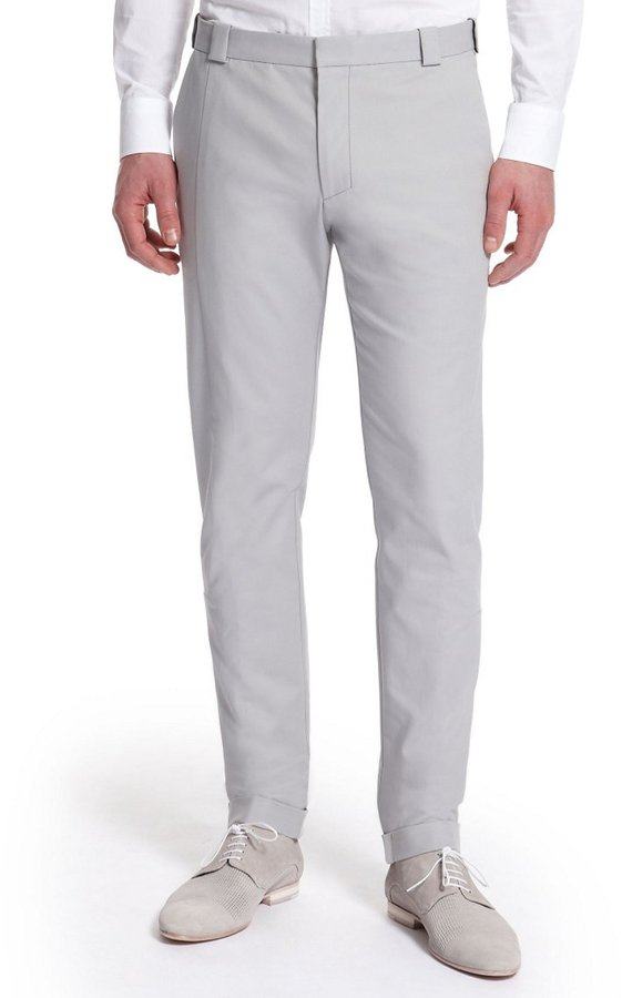 HUGO BOSS 'Habis' | Extra Slim Fit, Cotton-Blend Dress Pants by HUGO