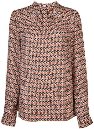 Dorothy Perkins Womens **Tall Multi Coloured Button 'Emily' Top