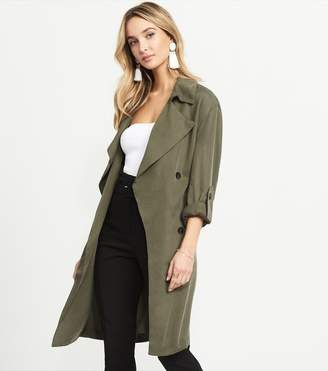 Dynamite Soft Trench With Belt KHAKI