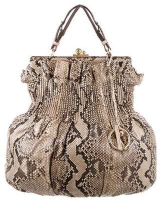 Reed Krakoff Snakeskin Handle Bag