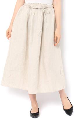 SM2 (サマンサ モスモス) - サマンサモスモス 麻柄アソートギャザースカート