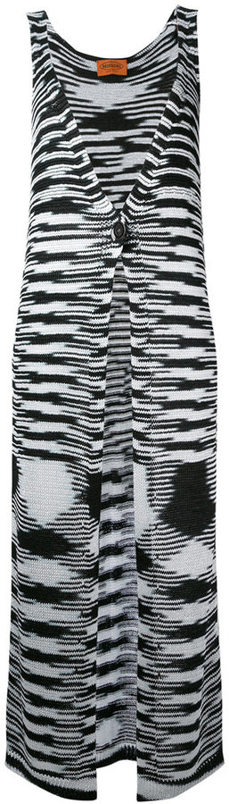 Missoni Missoni long knitted vest