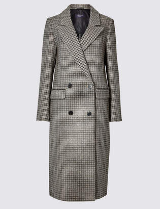 Limited Edition Checked Longline Duster Coat