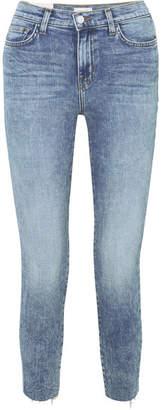 L'Agence El Matador High-rise Slim-leg Jeans - Mid denim