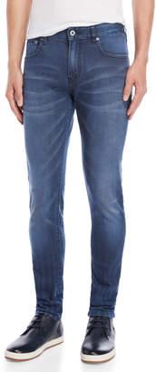Scotch & Soda Blue Bath Skim Skinny Fit Jeans
