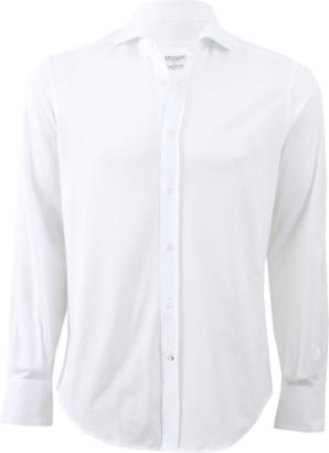 Brunello Cucinelli Jersey Collared Shirt