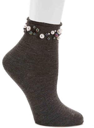Steve Madden Pearl Mix Ankle Socks - Women's