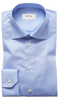 Eton Slim Fit Houndstooth Dress Shirt