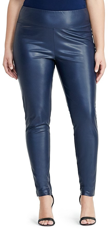 Lauren Ralph Lauren Lauren Ralph Lauren Plus Faux Leather Leggings